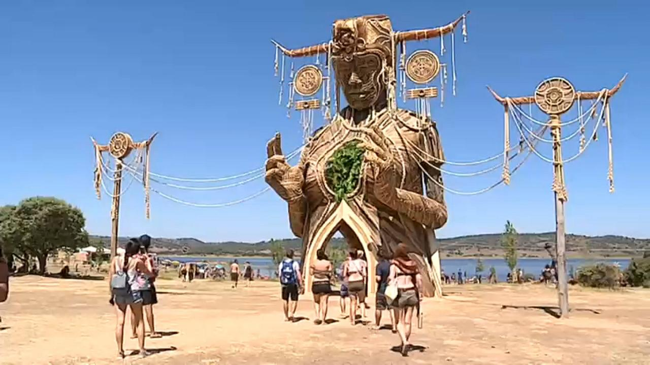 Mais de 35 mil pessoas esgotam Boom Festival