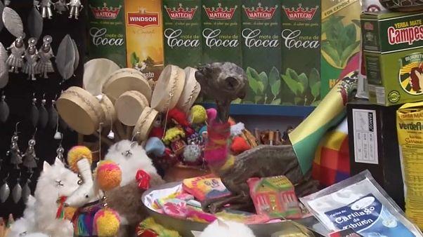 Heilung garantiert auf dem Hexenmarkt in La Paz