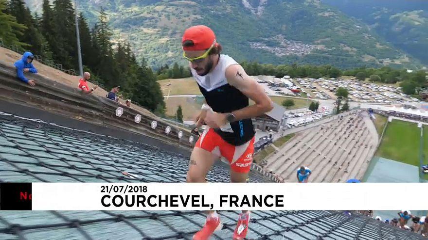 Courchevel: Uma corrida quase vertical