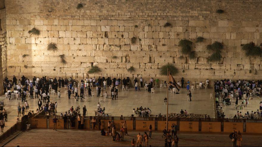 سقوط سنگ ۱۰۰ کیلویی از دیوار ندبه در بیت المقدس