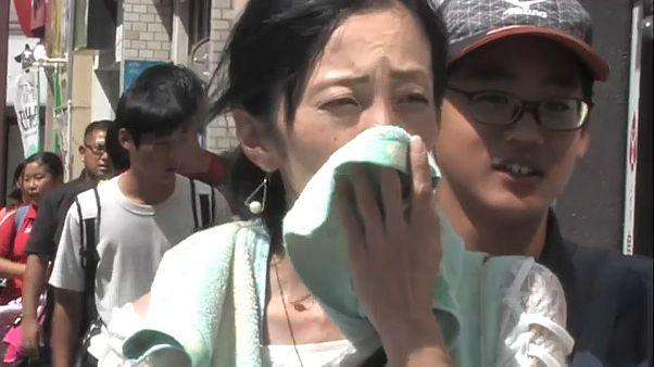 Япония изнывает от рекордной жары