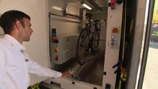Lucha contra el dopaje tecnológico en el Tour de Francia