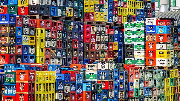 Sowohl Flaschen als auch Biekästen werden so langsam knapp