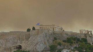 Emberéletet is követelt a görög erdőtűz