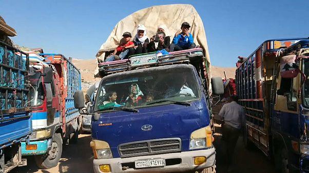 Беженцы возвращаются домой