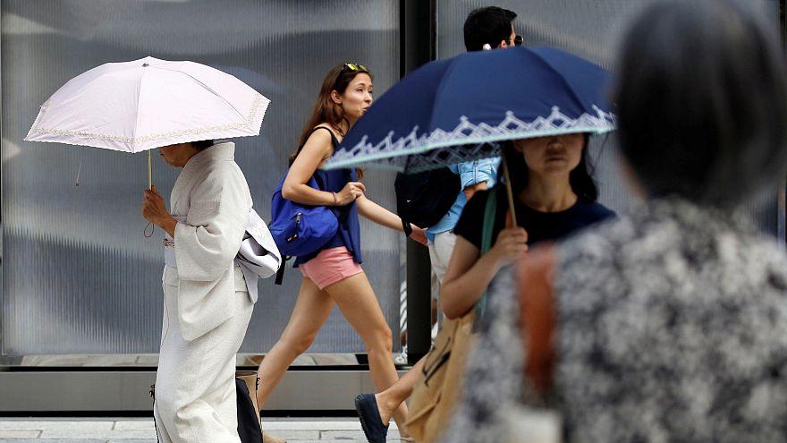 80 muertos en Japón por ola de calor que afecta a medio mundo