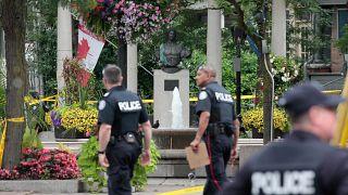 اعتقال رجل بعد هجوم بسكين قرب البرلمان في كندا
