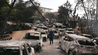 Tragedia en Grecia: al menos 50 muertos por los incendios a las puertas de Atenas