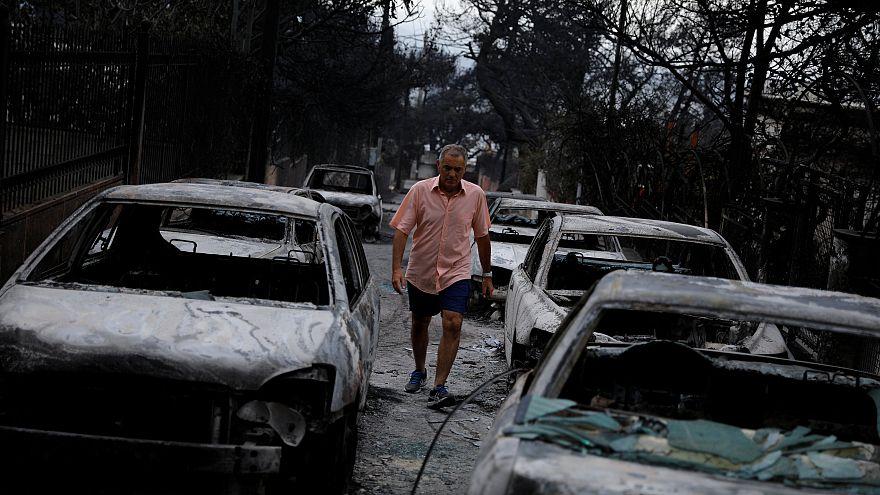 Grèce : au moins 70 morts dans les feux