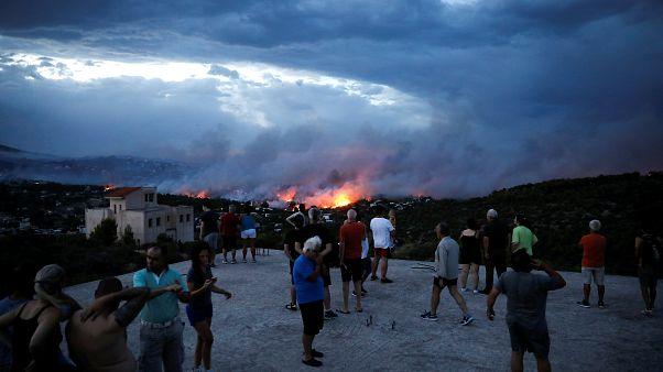 """""""Wie Pompeji"""": Mehr als 50 Tote durch Feuer bei Athen"""