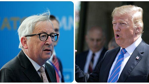 Feszült Juncker-Trump találkozó jöhet