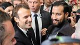 Macron under increased pressure over bodyguard