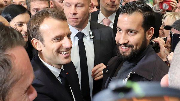 Macron under increased pressure over bodyguard