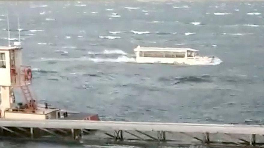 Kiemelték az elsüllyedt amerikai kacsahajót