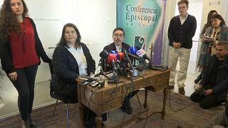 Rueda de prensa de la Conferencia Episcopal de Chile