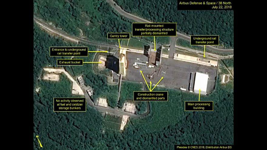 Lebontják az egyik észak-koreai rakétatelepet