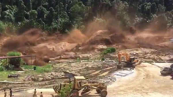 ریزش سد در لائوس؛ صدها تن ناپدید شدند