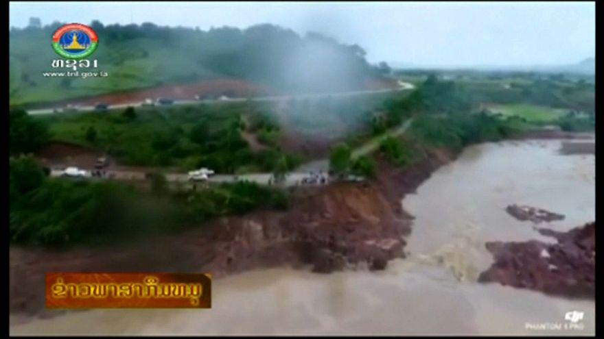 Laos: cede una diga in costruzione, centinaia i morti