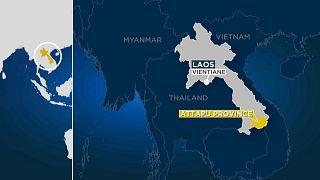 Un barrage s'effondre au Laos, des centaines de disparus
