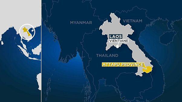 Tote und Vermisste nach Dammbruch in Laos