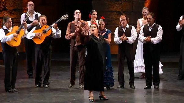 Baile flamenco en el Líbano