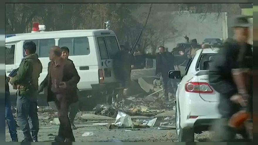 Afganistan'ın başkenti Kabil'de roket saldırıları