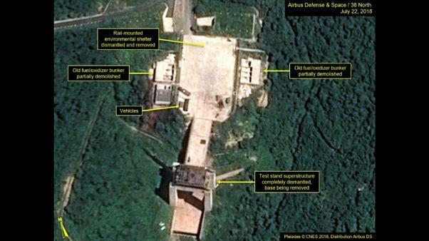 КНДР начала демонтаж полигона Сохэ