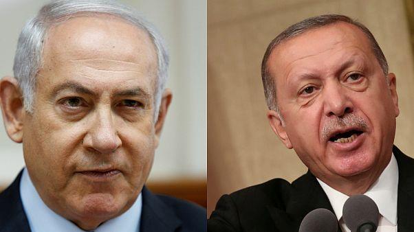 إردوغان يشبه القانون الإسرائيلي بسياسات هتلر ونتنياهو يرد