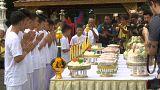 Crianças resgatadas na Tailândia iniciam retiro budista