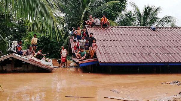 Λάος: Εκατοντάδες αγνοούμενοι από κατάρρευση φράγματος