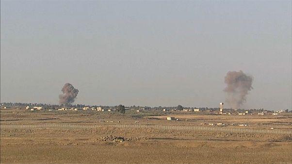 Израиль сбил сирийский истребитель