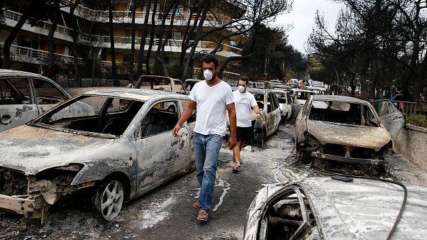 Grécia: 74 mortos nos incêndios de Ática