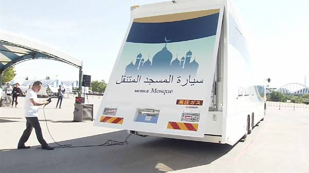 Japan plans mobile mosques for Olympics