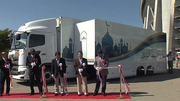 Japonya: 2020 Tokyo Olimpiyatları için 'mobil cami'