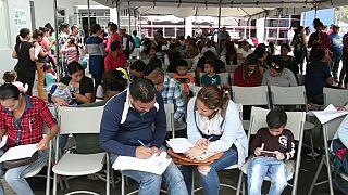 Huyen de Nicaragua por miedo a perder la vida