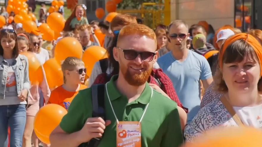 Redhead Festival in Russia celebrates all things red
