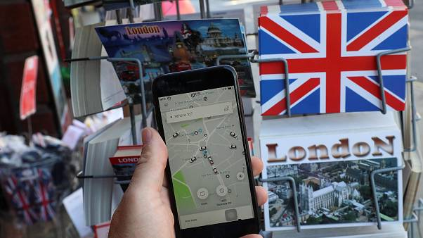 Uber'e Londralı taksicilerden 1,25 milyar sterlinlik dava