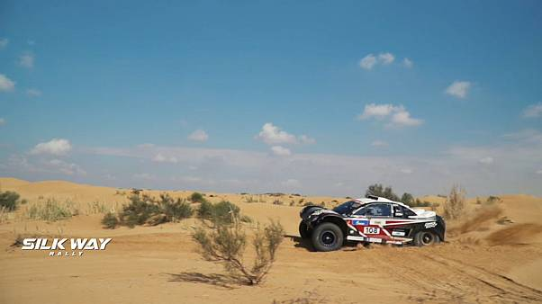 Silk Way Rally: Mathieu Serradori edges stage four