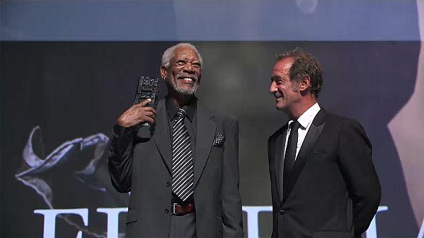 Morgan Freemant ünnepelték a deauville-i filmfesztiválon