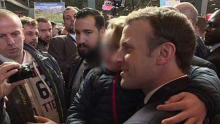 "Macron sobre Benalla: ""O único responsável sou eu"""