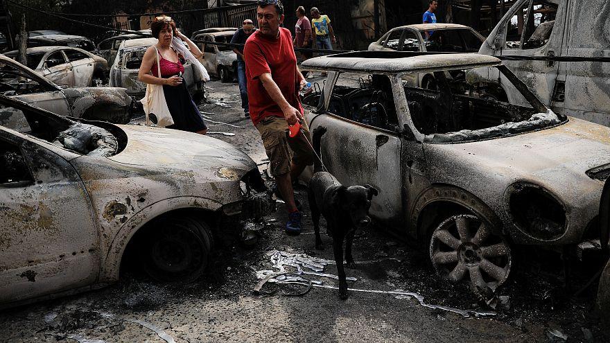 Yunanistan yanıyor- fotoğraflı haber