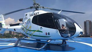 شاهد: شركة كابيفاي تطلق خدمة المروحية التاكسي في العاصمة المكسيكية