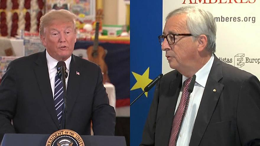 Trump - Juncker : rencontre tendue