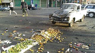 Véres támadássorozat Szíriában