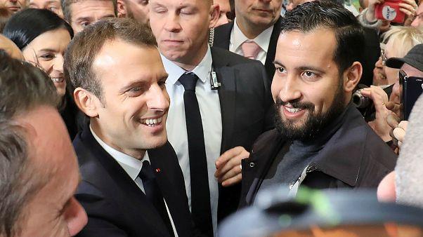 Benalla kriziyle ilgili ilk kez konuşan Macron: Bütün sorumluluk benim