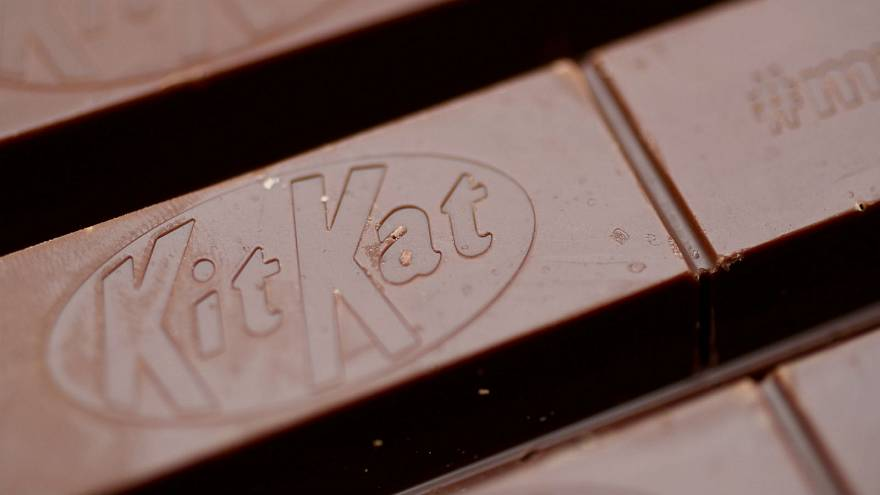 Top EU court rejects Nestle's bid to trademark the shape of its four-fingered Kit Kat