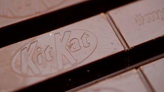 Une barre de chocolat Kit Kat