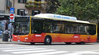 Un bus dell'Atb di Bergamo