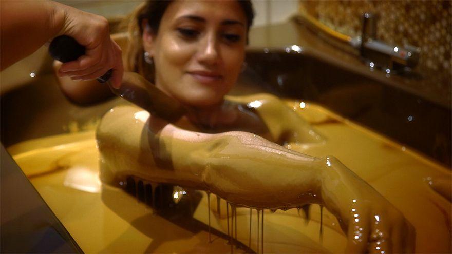 The Naftalan bath oil, Azerbaijan's slick beauty treatment