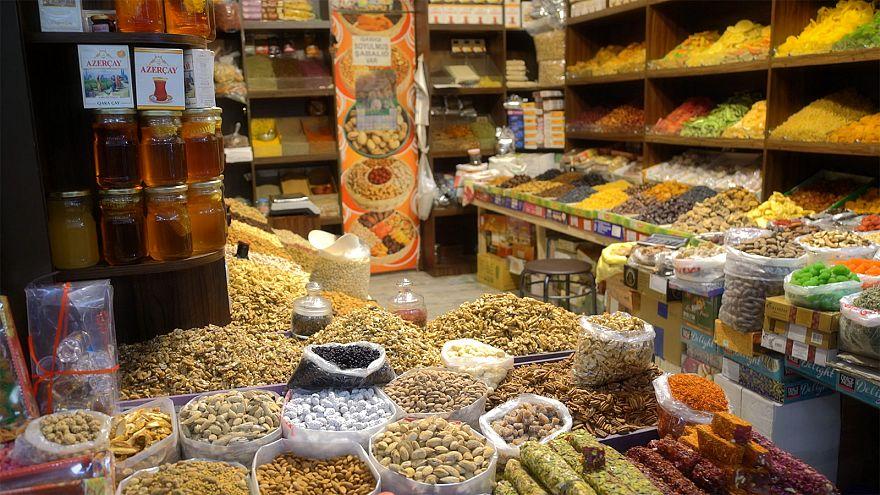 Αζερμπαϊτζάν:  Το παζάρι Γιασίλ στο Μπακού